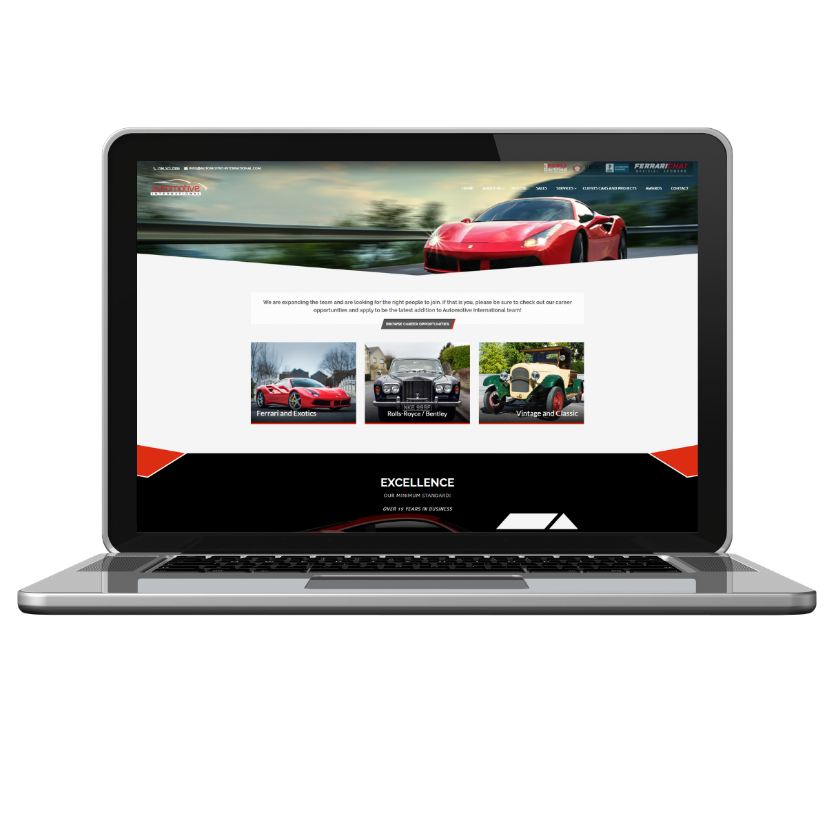 smb web design home automotive international