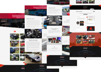 smb web design langind pages automotive international