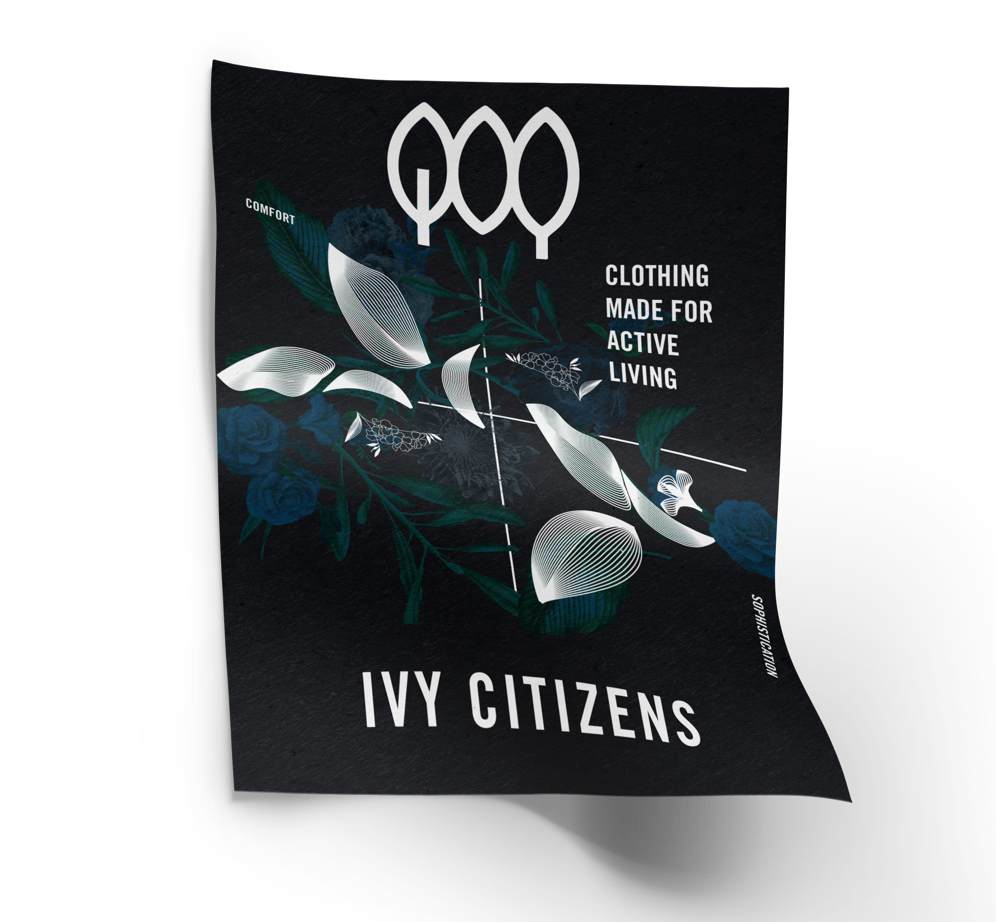 ivy citizens poster and advertising campaign developed by wit group