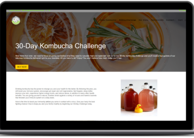 30 day kombucha challenge lil duck creative strategy
