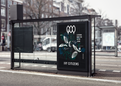ivy citizens outdoor print advertising display