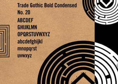 labyrinth coffee style guide design